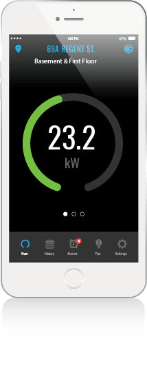 Eniscope energy management and monitoring app