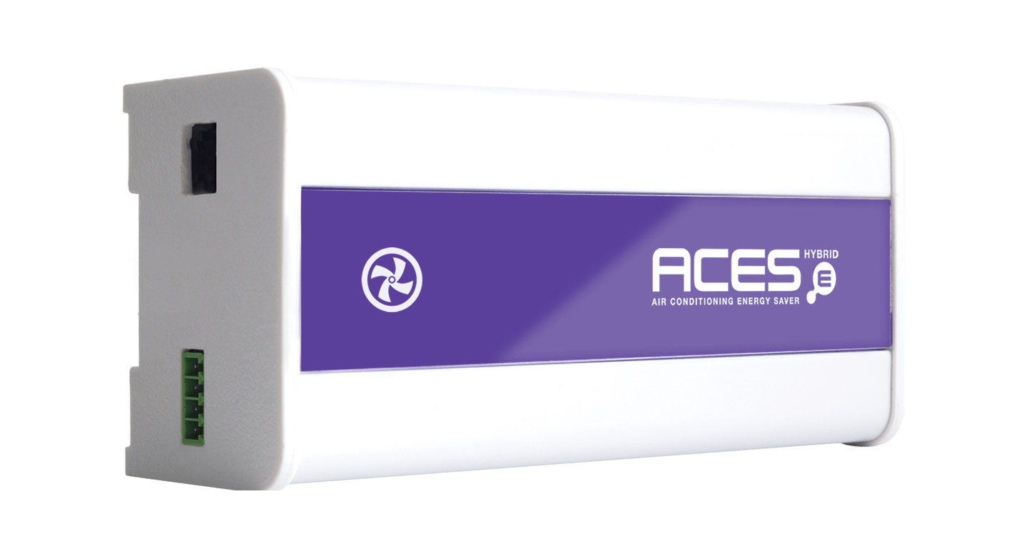 Aces air conditioning energy saving - hybrid side on